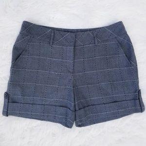 White House Black Market Plaid Shorts